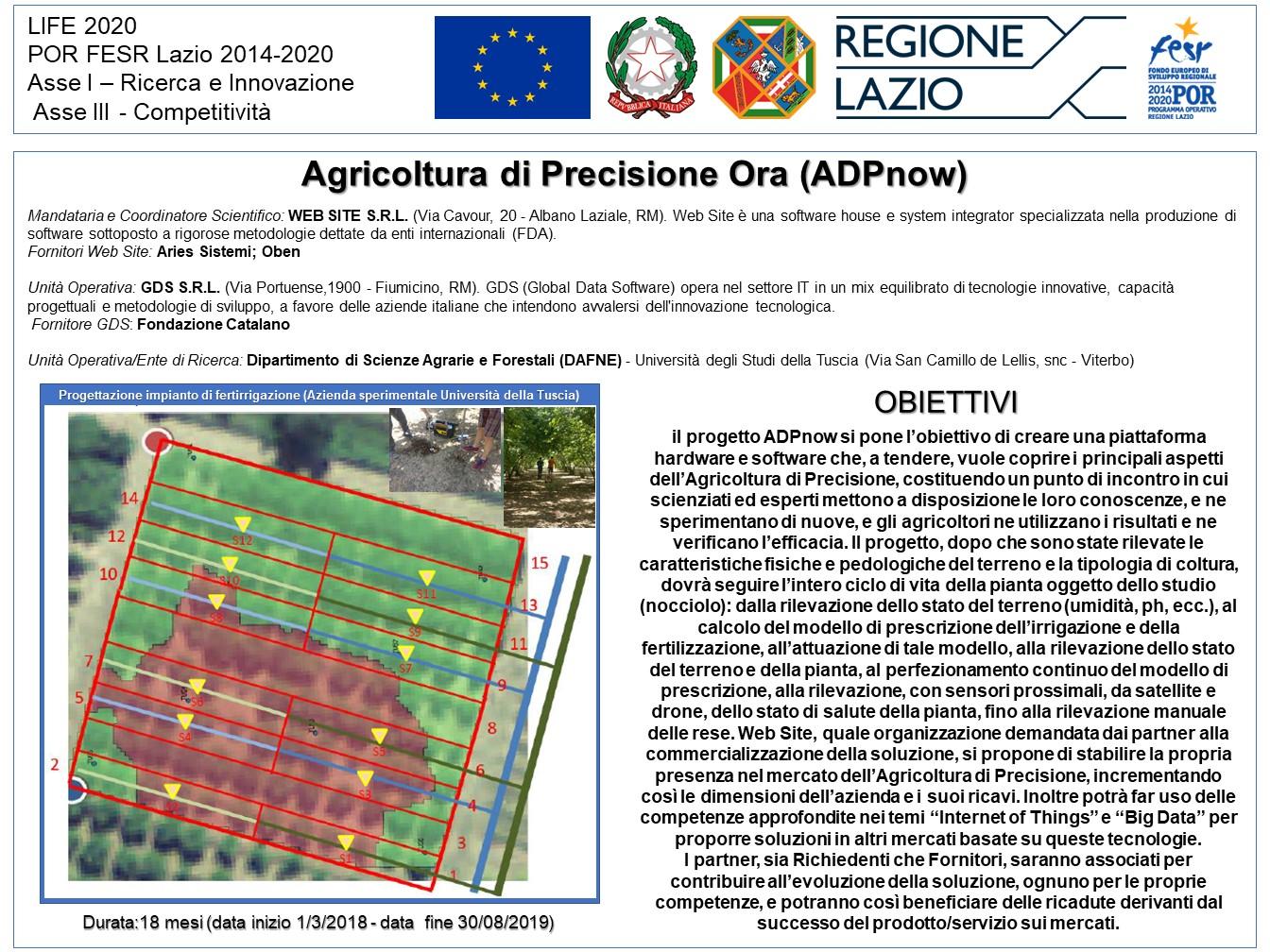 Agricoltura di Precisione Ora (ADPnow)